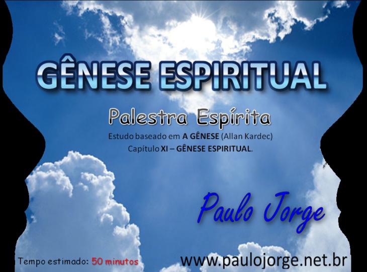 Gênese espiritual (Palestra)