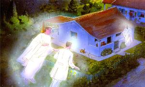 Os espíritos necessitam de endereço para localizarem as pessoas?