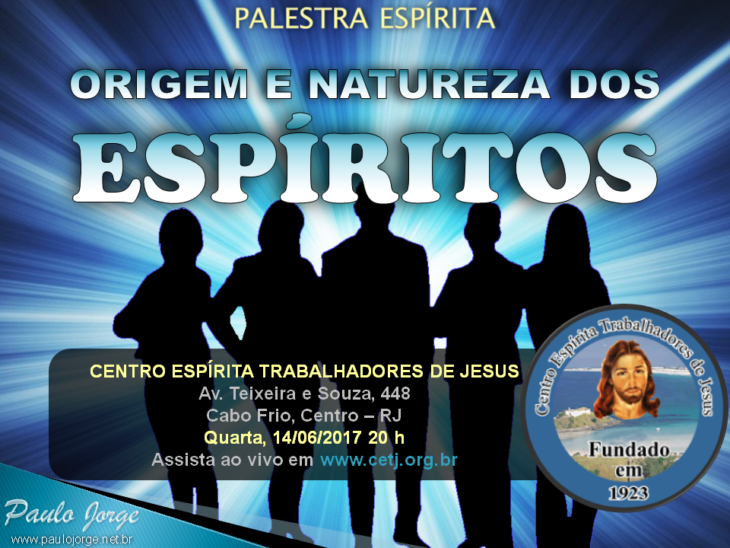 Origem e natureza dos espíritos (CETJ)