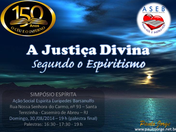 A justiça divina segundo o espiritismo (aseb)